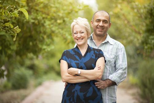 couple marié candauliste